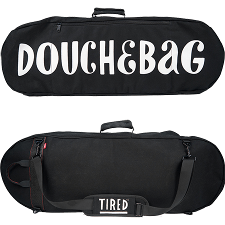 Tired Skateboards Douche Bag Skate Board Bag