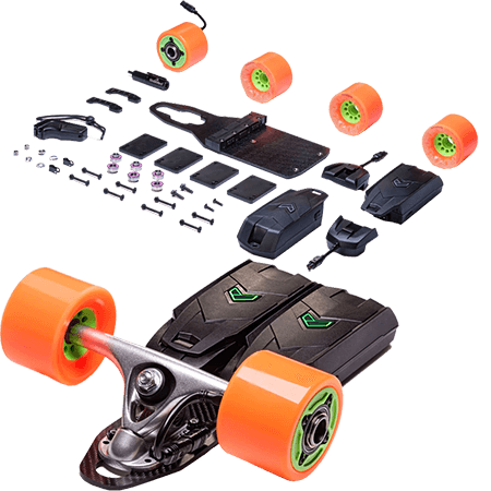 Unlimited x Loaded Cruiser Electric Skateboard Kit