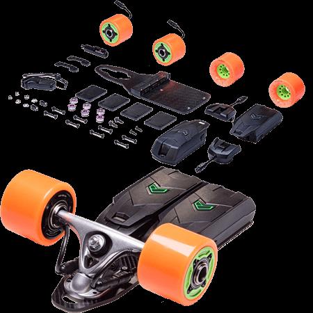 Unlimited x Loaded Race Electric Skateboard Kit