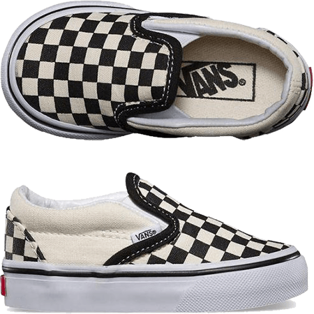 Vans Toddler Slip-On Checkerboard Skate Shoes