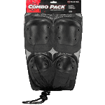 187 Combo Pad Pack Skateboard Knee Elbow Pads