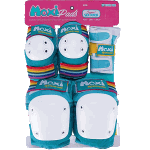 187 Junior Six Pack Moxi Jade Skate Pads
