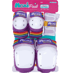 187 Junior Six Pack Moxi Lavender Skate Pads