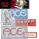 Ace Loose Trucks Assorted Stickers 5pack