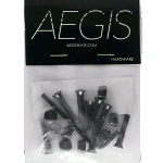 "Aegis Black 1.25"" Allen Deck Bolts"