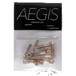 "Aegis Anodised Gold 1"" Allen Deck Bolts"