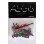 "Aegis Anodised Multi Colour 1"" Allen Deck Bolts"