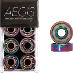 Aegis Precision High Speed Shieldless Electro Luxe Skateboard Bearings