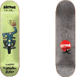 "Almost Jean Julien Monsters Cooper 8.375"" Skateboard Deck"
