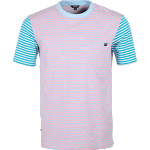 Enjoi Tight Stripe Pastel Pocket Tee