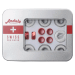 Andale Swiss Tin Pro Rated Skateboard Bearings