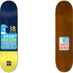 "Anti-Hero Scenic Drive 2 Daan 8.06"" Skateboard Deck"