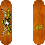 "Anti-Hero Shaped Eagle 9.1"" Orange Crusher Skateboard Deck"