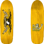 "Anti-Hero Shaped Eagle Ol' Yeller 9.95"" Skateboard Deck"