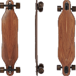"Arbor Axis 40"" Flagship Rosewood Complete Longboard"