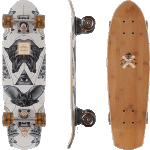 "Arbor Pocket Rocket Bamboo 27"" Cruiser Skateboard Complete"