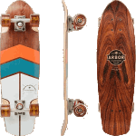 "Arbor Pocket Rocket Foundation Rosewood 26.75"" Complete Cruiser Skateboard"