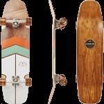"Arbor Shakedown 34"" Foundation Rosewood Complete Cruiser Skateboard"