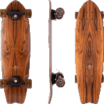 "Arbor Sizzler Flagship 31"" Rosewood Cruiser Skateboard Complete"