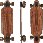 "Arbor Zeppelin 32"" Flagship Rosewood Complete Longboard"
