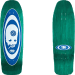 "Black Label Thumbhead 2 Lucero 10"" Teal Stain Skateboard Deck"