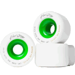 Blood Orange Morgan Pro 65mm 80a Green Longboard Wheels