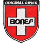 "Bones Swiss Shield 3"" Patch"