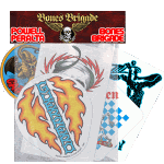 Powell Peralta Bones Brigade Sticker 5 Pack