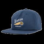 Brixton Maverick Navy Snapback Hat Cap