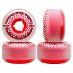 Cadillac Clout Cruisers 57mm 80a Smoke Red Skateboard Wheels