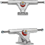 Caliber II Fifty 158mm Raw Silver Longboard Trucks