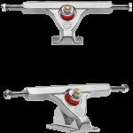 Caliber II Fifty 158mm Raw Silver Longboard Trucks