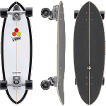 "Carver Channel Islands Black Beauty C7 31.75"" Complete Surfskate Cruiser"