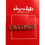 Chocolate Parliment Enamel Pin