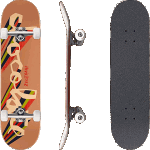 "Chocolate Chunk Perez 7.625"" Complete Skateboard"