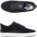 Diamond Layfayette Black White Skate Shoes