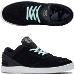 Diamond Graphite Black Skate Shoes
