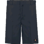"Dickies 852 Flex 11"" Relaxed Fit Flex Fit Dark Navy Shorts"