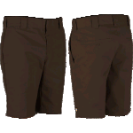 "Dickies 872 Slim 10"" Chocolate Brown Shorts"
