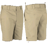 "Dickies 872 Slim 10"" Khaki Shorts"