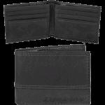 Dickies Black Leather Wallet
