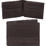 Dickies Brown Leather Wallet