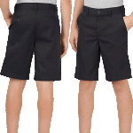 Dickies Youth 700 Classic Flex Fit Black Shorts