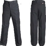 Dickies Youth 873 Slim Fit Straight Black Pants