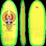 "Dogtown Bigfoot II Rider Green Yellow Fade 11.875"" Skateboard Deck"
