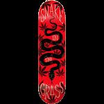 """Elan Snake In The Grass 8.25"""" Redline Slick Skateboard Deck"""