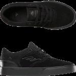 Emerica Youth Reynolds Low Vulc Black Skate Shoes