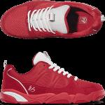 éS Silo Red Skate Shoes