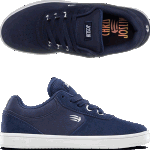 Etnies Kids Joslin Navy Skate Shoes