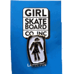 Girl OG Sketchy Enamel Lapel Pin